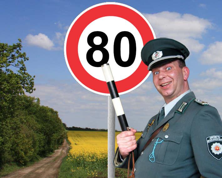 DDR Comedy Show Einlage als Unterhaltung zum 80. Geburtstag