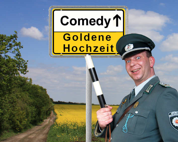 Unterhaltung und Comedy Einlagen für Goldene Hochzeiten